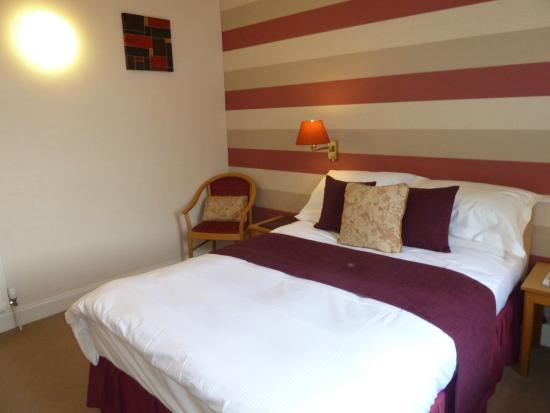 The Broughton Hotel: Double  en-suite room