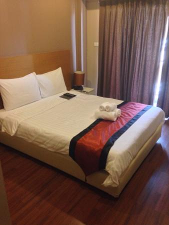 The Cottage Suvarnabhumi : Chambre propre
