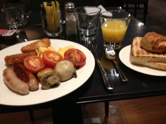 Buffet breakfast Picture of Hilton Garden Inn Aberdeen City