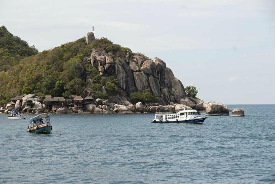 Charm Churee Villa: Hotel vanaf de zee