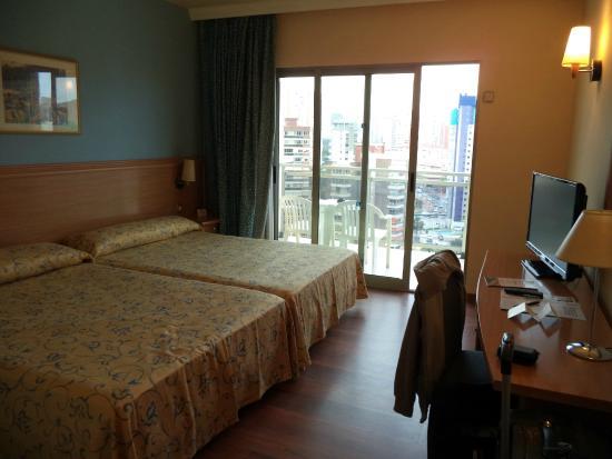 Hotel RH Princesa: Room on 15th floor