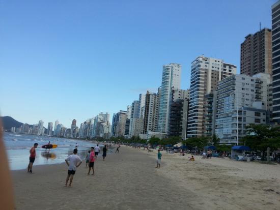 Master Hotel: praia
