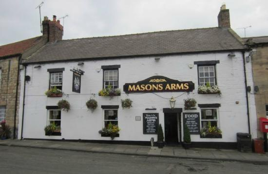 The Masons Arms: Outside of the Masons