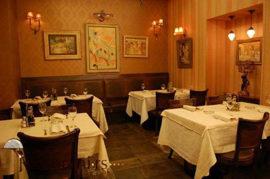 Mali Pariz, restaurant inside,Belgrade,Serbia