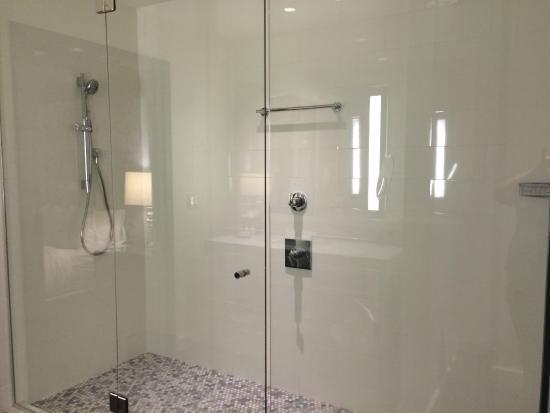 Hotel Sorella Country Club Plaza: Amazing huge shower