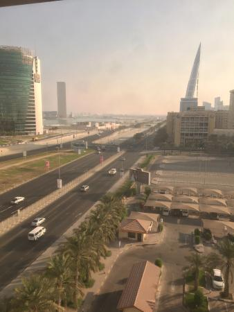 InterContinental Regency Bahrain: view from the room