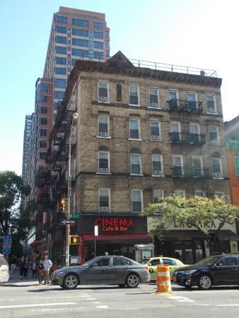 New York Budget Inn: la ubicacion