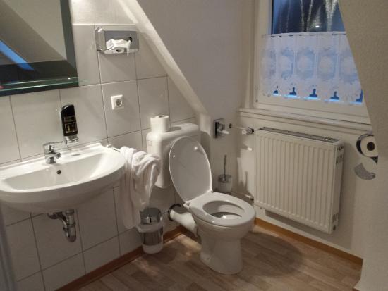 Hotel Altes Gasthaus Schroer: Il mio bagno