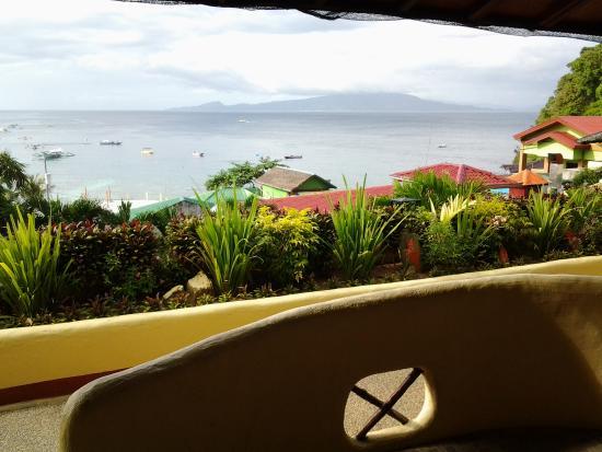 Oriental Sabang Hill Resort : Vue depuis la chambre N° 8