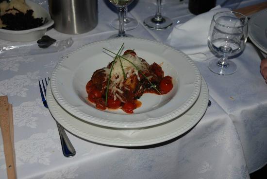 Ardshiel Hotel: Paupiette of Spinach, Aubergine and Ricotta