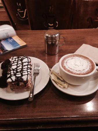 Cafe Carmel: Meu pedido