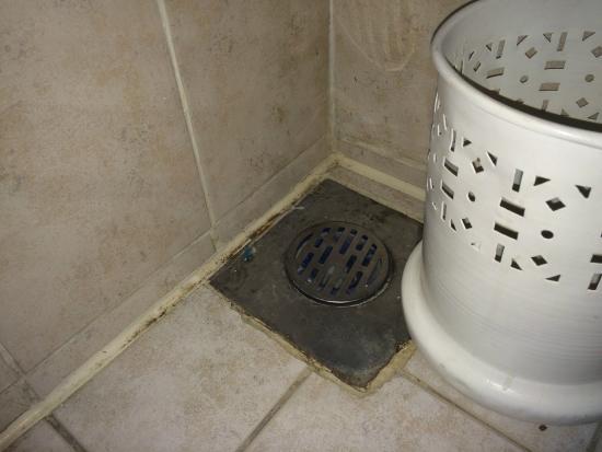 Steigenberger Aqua Magic: Eine Ecke im Badezimmer - appetitlich :-(