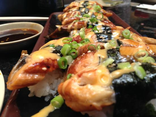 Fuji Sushi Buffet: Unagi creamy and warm