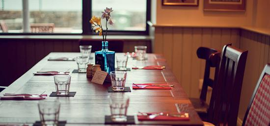 The Rockmount Restaurant And Bar A Normal Table Set Up At