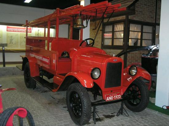 National Firefighters Museum: Carro antigo