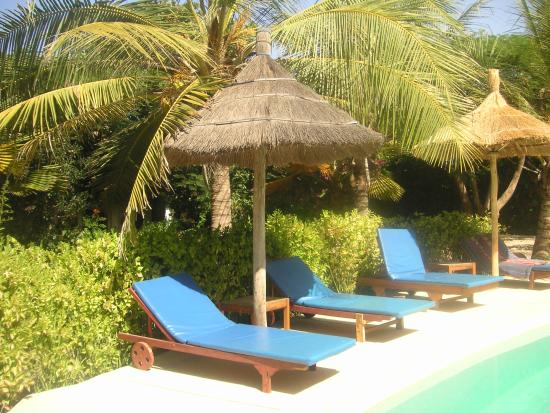 Auberge Keurmariguen : la piscine