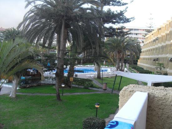 Jardin del Atlantico : vista dalla camera