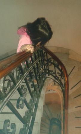 Viejo Telmo: Escaleras de mármol