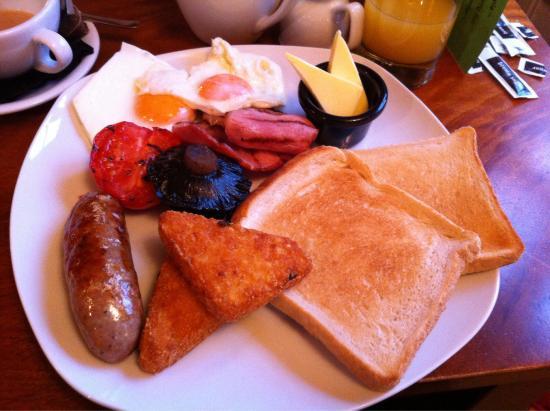 The Mulberry Inn: Full English!