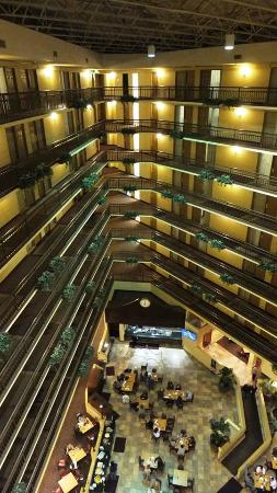 Embassy Suites by Hilton Portland Washington Square: Inside view from the 9th floor.