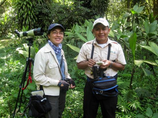 Los Tarrales Natural Reserve: Claudia and Lius