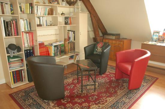 Les coquelicots : Salon de lecture