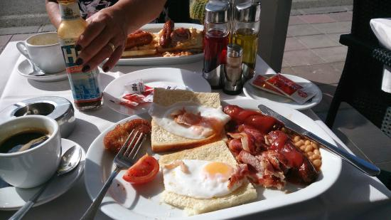 Aberdeen Steak House: breakfast for 2.5 euros