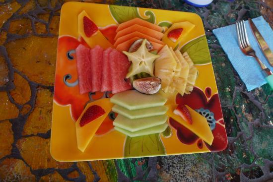 Hacienda Mosaico: Breakfast
