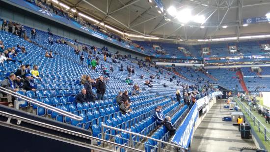 Veltins Arena: Sudkurve stand