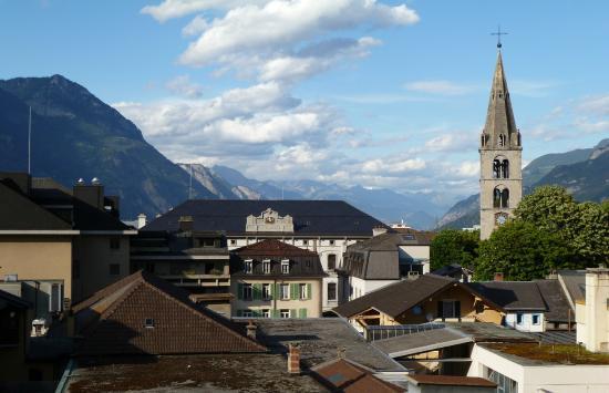 Hotel alpes rhone martigny schweiz omd men och for Hotel design rhone alpes