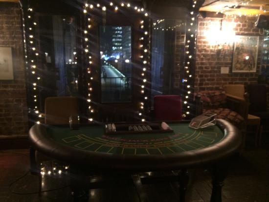 VIA - Canary Wharf : Casino night