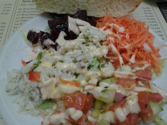Restaurant Mamounia: vegetable starter