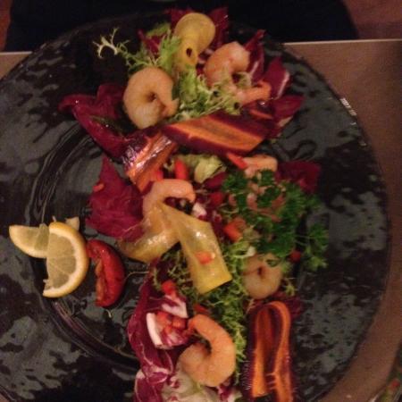MOMENTO SAPORI E VINI : salade de gambas