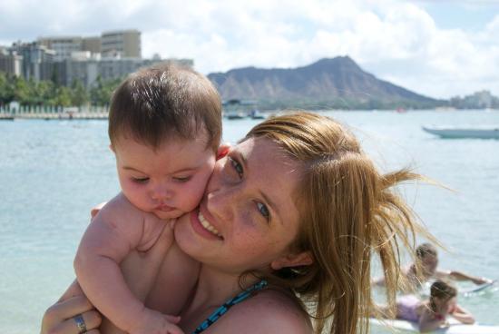 Waikiki Marina Resort at the Ilikai : Desde la playa del Hilton