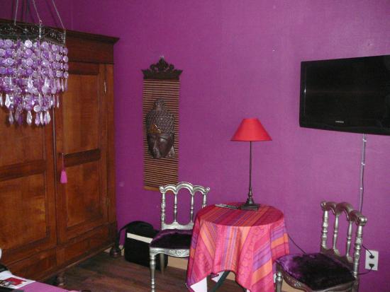 Maison Printaniere Bed & Breakfast : le coin salon
