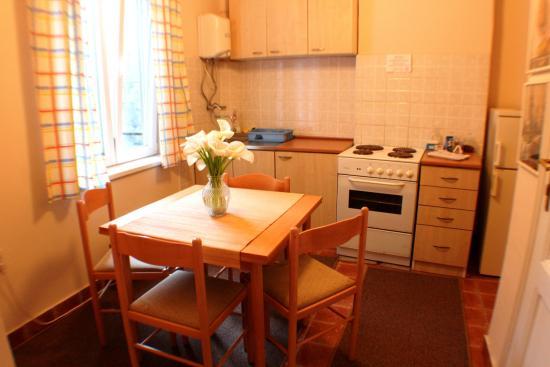 Hostel Skadarlija Sunrise: 2 bed room apartments kitchen