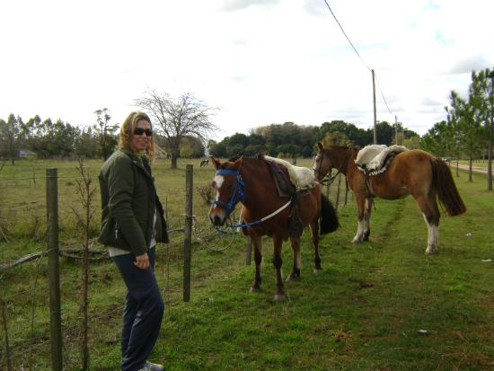 Estancia El Gateado : muy lindo paseo en caballo