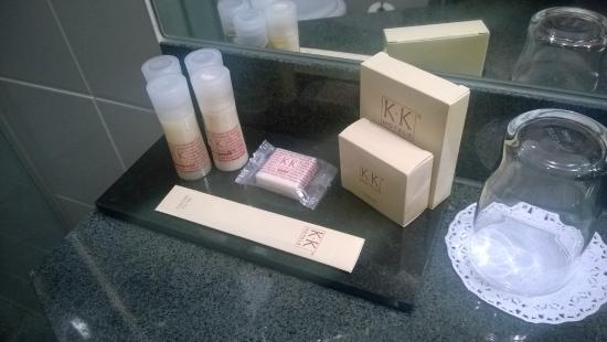 K+K Hotel Elisabeta: Toiletries
