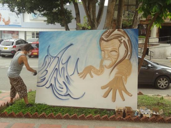 Hostal Kasa Guane: ARTE EN BUCARAMANGA