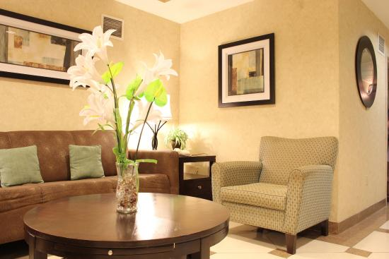 Comfort Suites Airport: Lobby