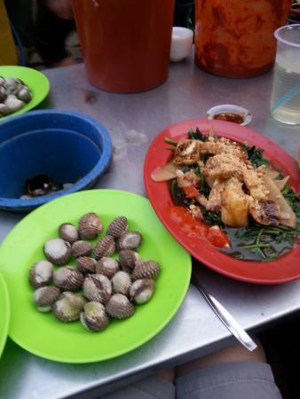 Mimosa Hotel: Clam & sotong