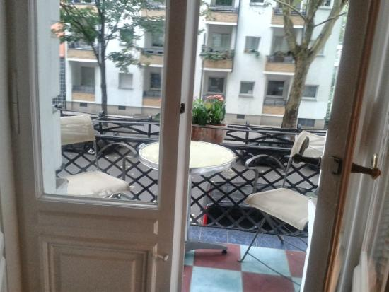 Pension Elefant: Balcon / Balcony