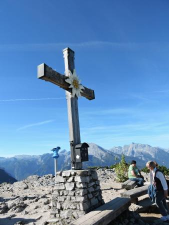 Kehlsteinhaus: The Cross at the top