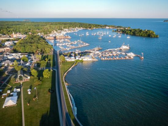 South Bass Island: View from Top of Memorial