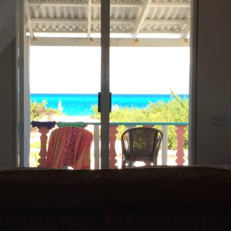 Castaway, Salt Cay: The view from inside our room is unbelievable!