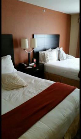Holiday Inn Express & Suites Manassas: Comfortable beds