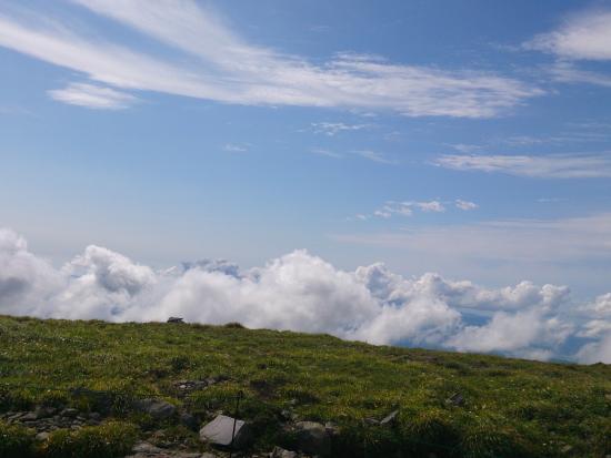 Gassan Shrine : 山頂より