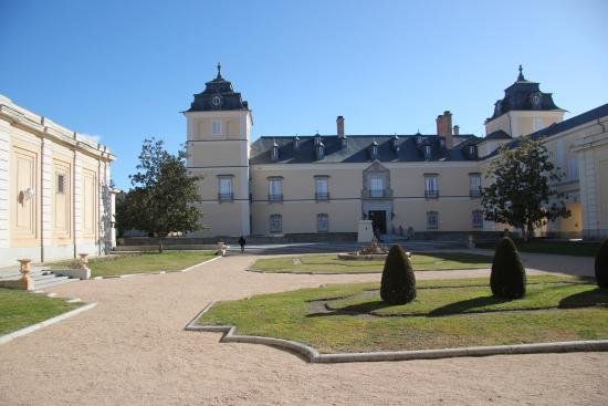 Palacio Real de El Pardo : perspetiva