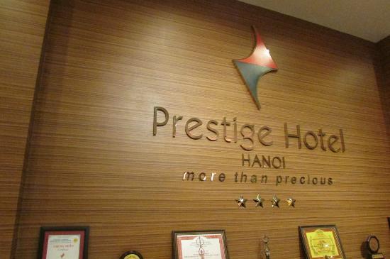 Prestige Hotel: Recepção do hotel