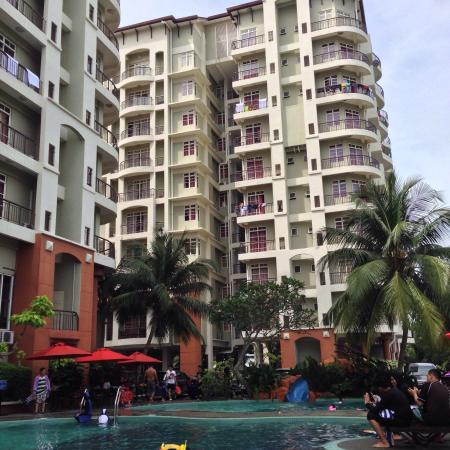 Ancasa Resort AllSuites, Port Dickson : Poolside view